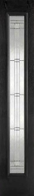 GRP Sidelight Black Glazed 1L Elegant