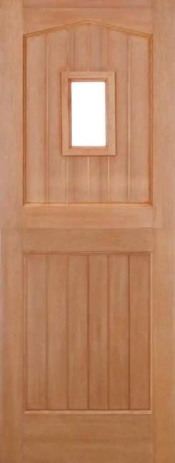Hardwood Stable Unglazed 1L Dowelled