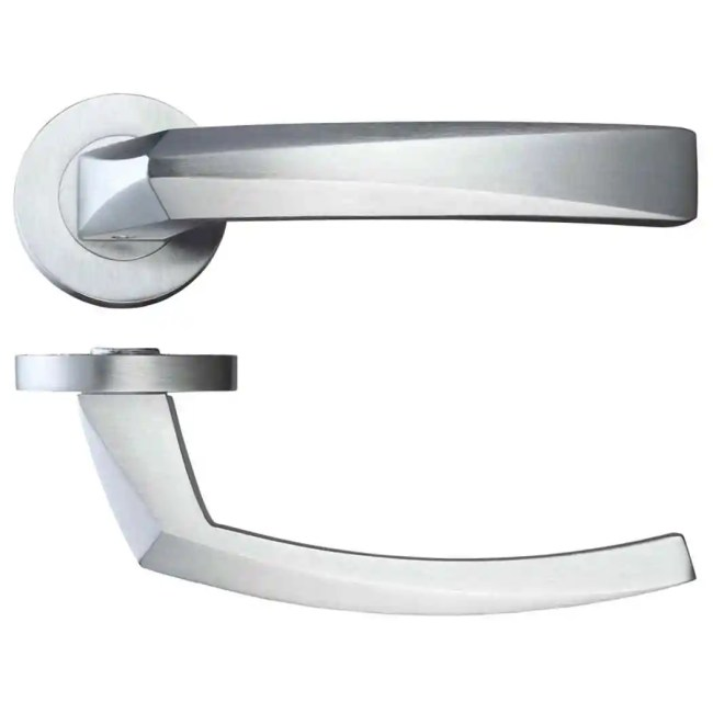 Ironmongery Hercules Satin Chrome Handle Hardware Pack