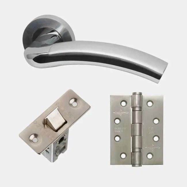 LPD Ironmongery Jupiter Handle Hardware Pack 1