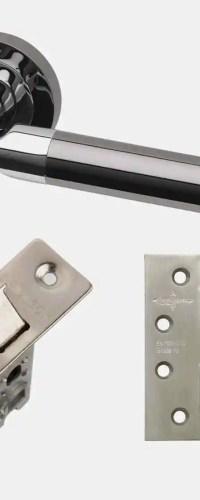 Ironmongery Vega Handle Hardware Pack