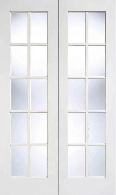 White GTPSA Glazed Pair
