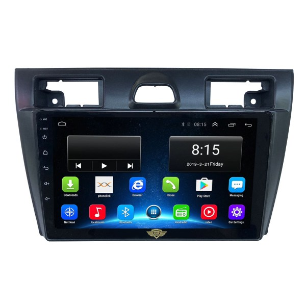Ateen Double-Din Car Android Music System For Old Ford Fiesta/Figo
