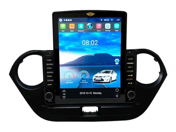 Ateen New Tesla for Hyundai i10 Grand with Voice Command