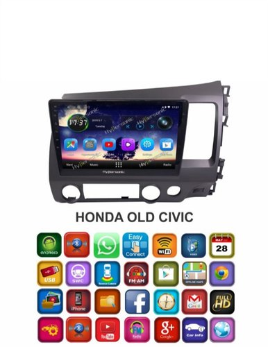 Hypersonic Honda Old Civic Android Stereo