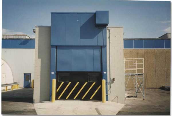 Dock Doors Vertical Lift Doors Sound Retardant High