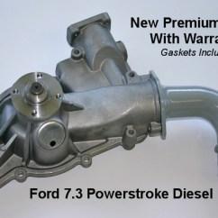 7 3 Powerstroke 2001 Mitsubishi Eclipse Wiring Diagram Ford Diesel Water Pump F6tz 8501a Sales