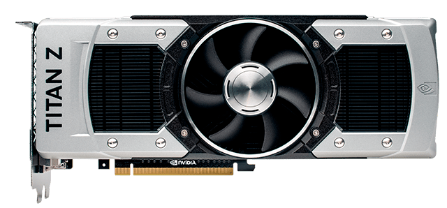 GeForce GTX TITAN Z - Full View