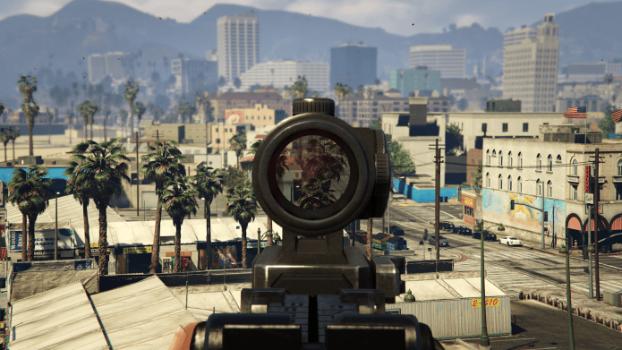 grand theft auto v pc in game depth of field effects 001 on - Factors that affects gaming Performance,Details setting,features explanation.