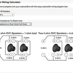 Speaker Wiring Diagram Ohms Electric Boiler Diagrams Two Common Car Amplifier Power Mistakes Mtx Audio