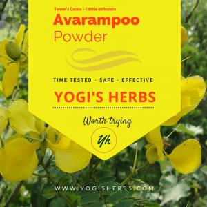 Avarampoo Powder ( Senna Auriculata ) – 1 lb Fresh & Pure