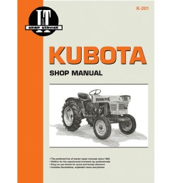kubota service manual 168 pages includes wiring diagrams for all models except l175 [ 900 x 900 Pixel ]