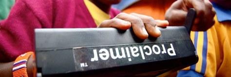 Proclaimer Audio Bible Hardware