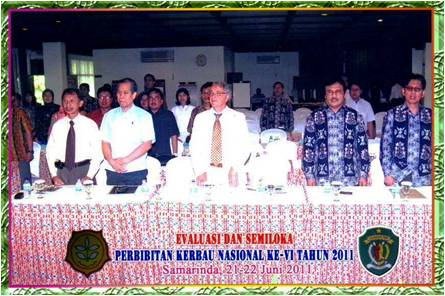 Libertado Cruz (Philippines), Antonio Borghese (Italy) and IBF Indonesian Delegates