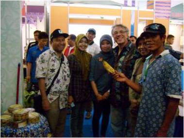 Prof. Borghese and Indonesian friends