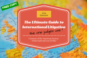 The Ultimate International Law Guide for U.S. Judges–And Attorneys!