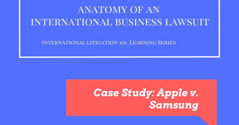 Anatomy of International Business Lawsuit - Home