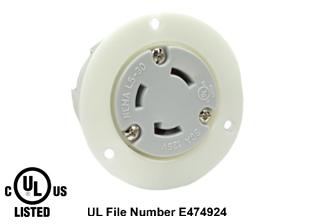 Nema L5 30r Plug Socket Ansi C73 73 Nema L5 30p 30