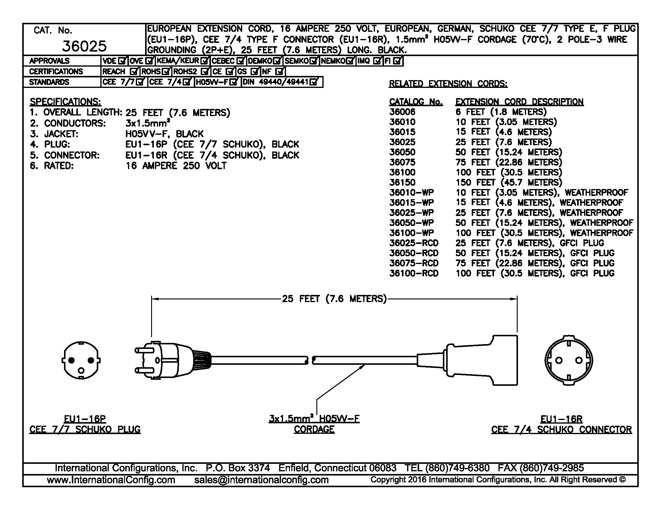 extension cord 20a 250v wiring diagram