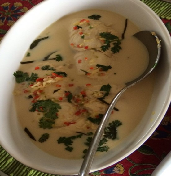 Thai Fish Fillets in Coconut Milk International Cooking