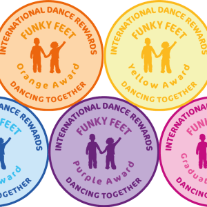 International Dance Rewards, dance rewards, dance school award, dance school rewards, dance school, dance school award, dance accreditation, dance accreditations, dance reward system, dance badge, dance certificate, dance badge and certificate, children's dance school, dancing together funky feet award
