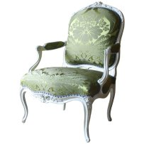 french antiques fauteuil