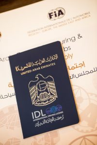 international driving permit/ international driving license for the UAE