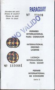 paraguay-International Driving License