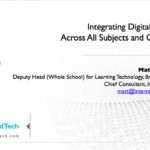 21CLHK 18 - Integrating Digital Citizenship ?Across All Subjects and Grade Levels - Matt Harris, Ed.D
