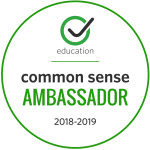 Common Sense Education Digital Citizenship Ambassador 2018-19