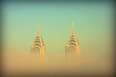 The famous twin Chrysler Towers
