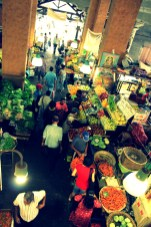 Inside the Port Louis Bazaar