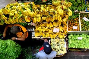 Bananas on sale
