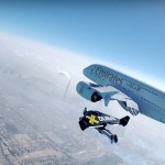 WATCH: Jetman Flies With The A380