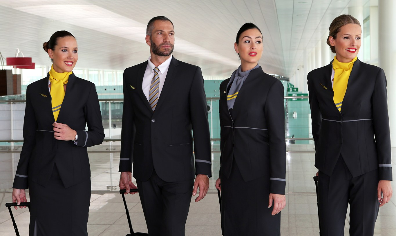 New Look Vueling Crew Design Eye Catching New Uniforms