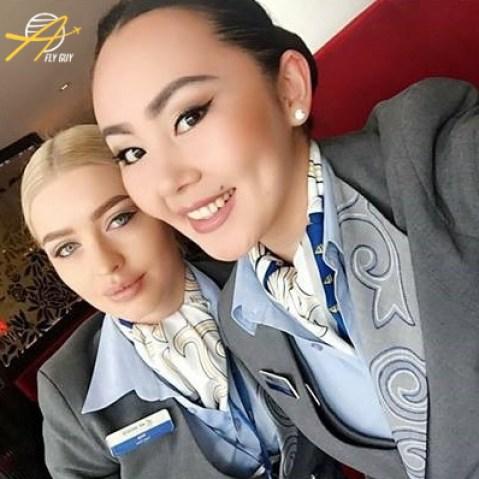 Air Astana crew