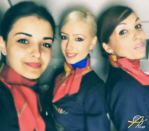 Air Malta cabin crew