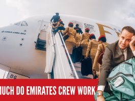 Emirates Cabin Crew A380