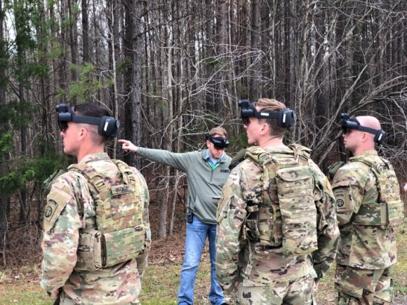 New virtual-reality goggles bring AI to US Army training