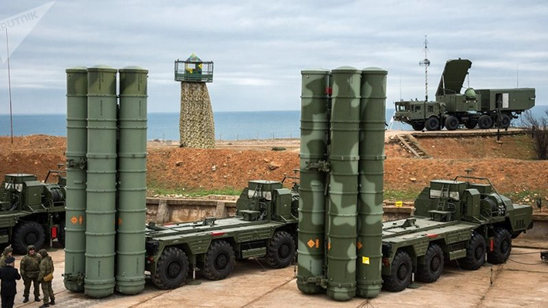 Turkey tests S-400 air defence systems