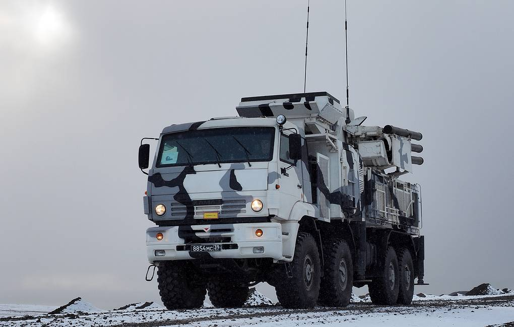 Russian anti-aircraft vehicle Pantsir-S received hypersonic missiles