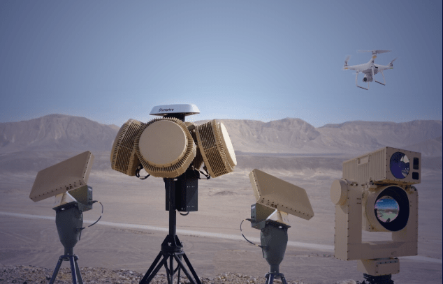 Israel's Rafael demonstrates Drone Dome laser intercepts
