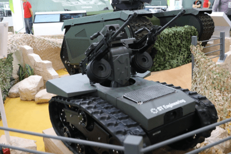 Singapore's ST Engineering rolls out updated Adder Micro RWS for UGV integration