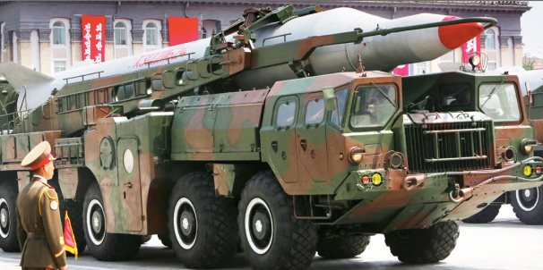 Pyongyang launches new type of short-range ballistic missiles toward East Sea
