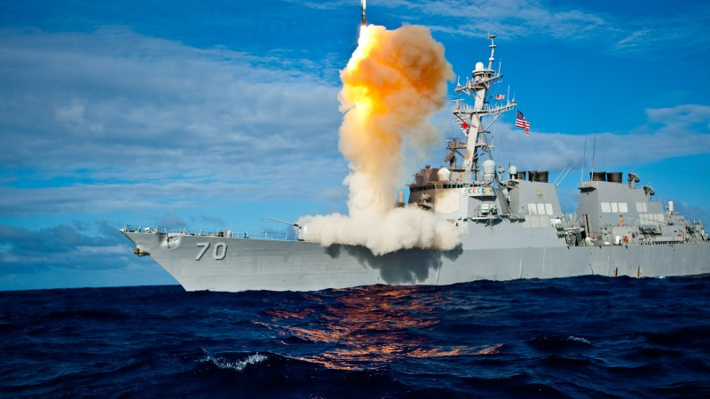 SM-6 missile dual-capability upgrade boosts US  Navy's  air warfare capability