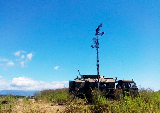 Russia tested SATCOM REDUT-2US and ARTEK communication systems