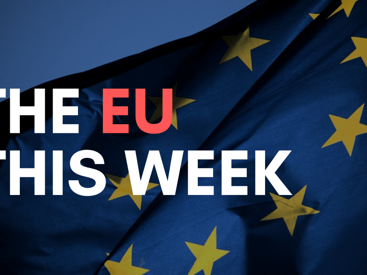 The EU This Week 11 – 17 May 2020