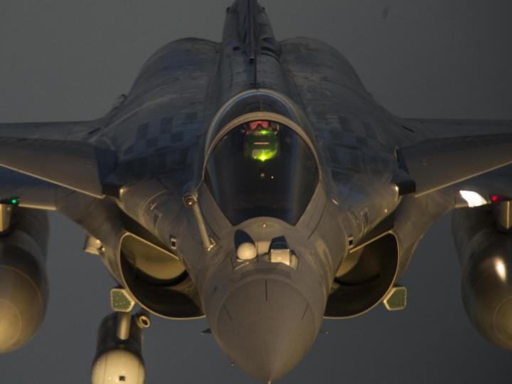 French Rafale destroyed Daesh bed down location (BDL) in Iraq