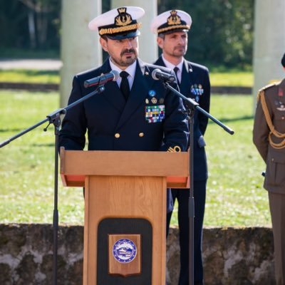 Rear Admiral (UH) Fabio Agostini heads Operation IRINI