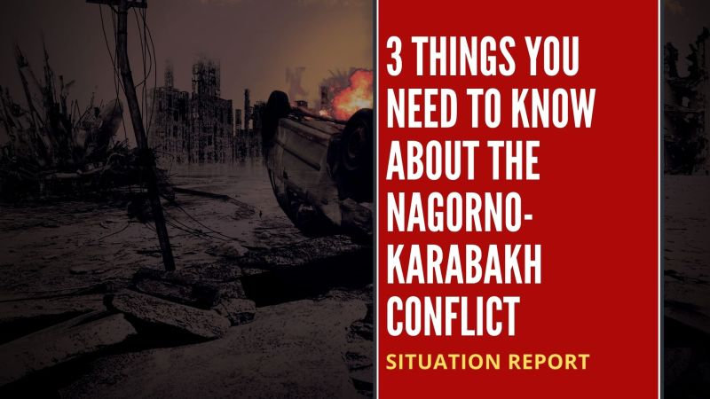 3 things you need to know about the Nagorno-Karabakh conflict